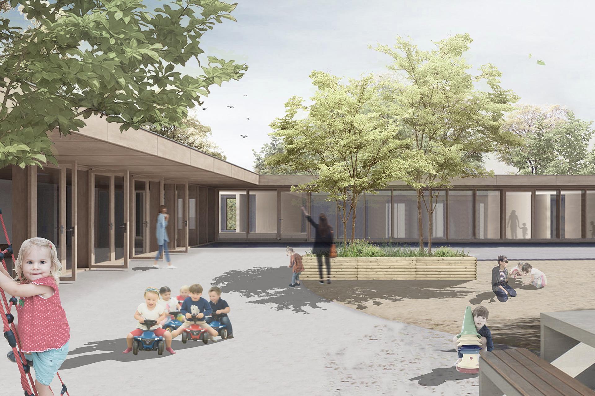 Wettbewerb Neubau Kindergarten – Samtgemeinde Uchte   08.03.2021